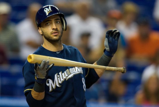 Ryan Braun hasn't been himself early on this season. / Photo credit to fantasy411.mlblogs.com