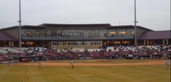 A view of the newly-renovated Fox Cities Stadium